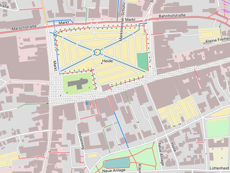 Höhenmeter Karte Deutschland.überblick