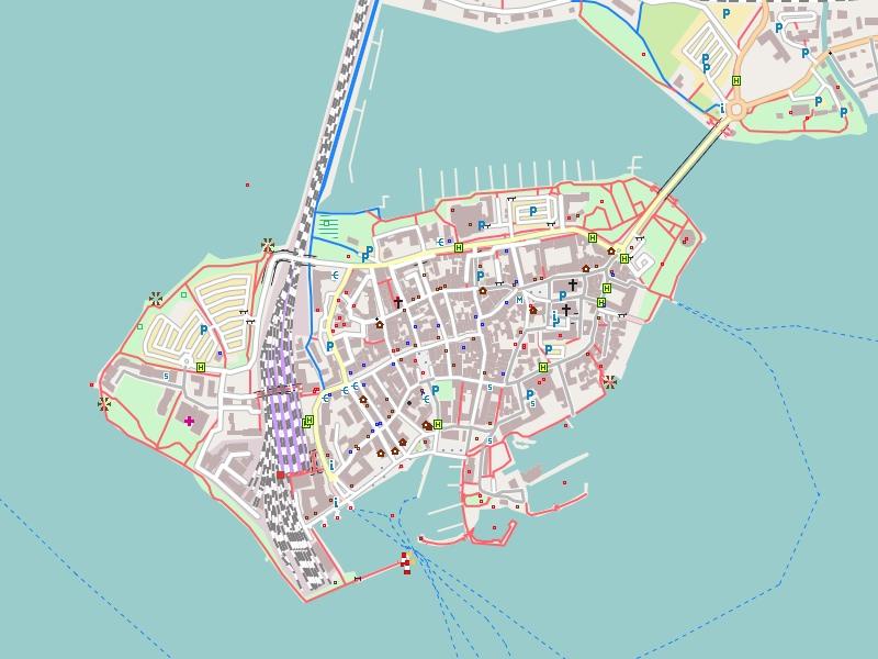 Lindau Germany Map.Freizeitkarte Deutschland