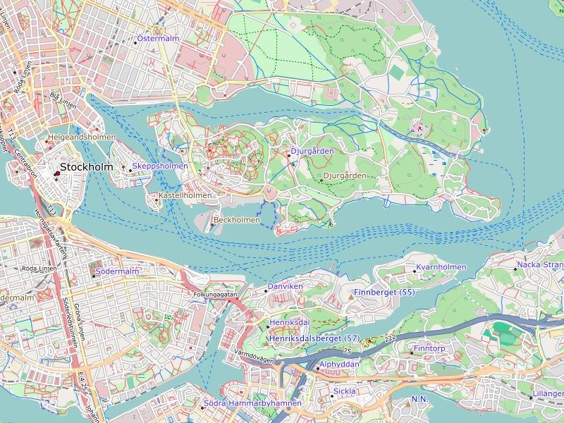 Freizeitkarte Sweden - Sweden map garmin
